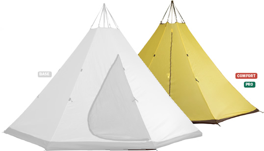 Tentipi Onyx 7 CP  sc 1 st  Mansfield Outdoors & Inner-tent 5 (PRO) Camping Gear for better camp experience ...