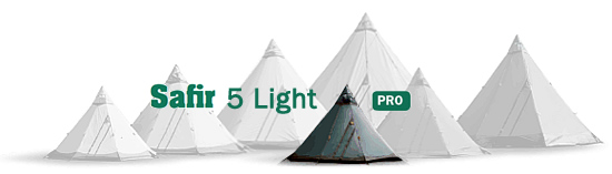 Tentipi Safir 5 Light Camping Tents