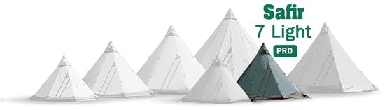 Tentipi Safir 7 Light camping tent