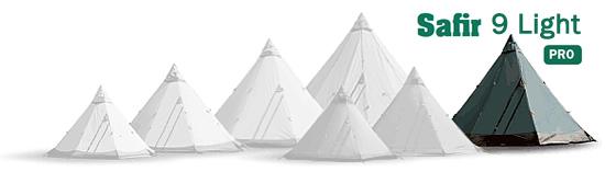 Safir 9 CP Tentipi camping tent Photos