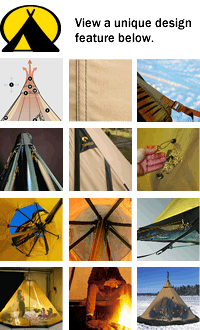Tentipi Camping Tent Feature Selector - click for more info