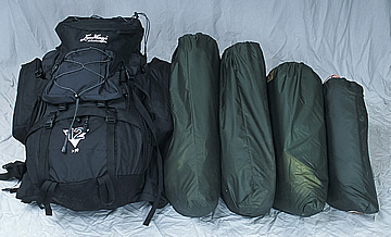 Onyx tent package size for backpacking