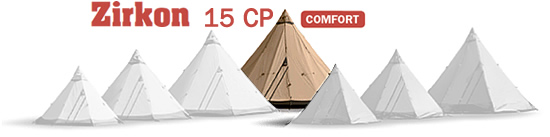 Zirkon 15 CP Tentipi Large Tent image
