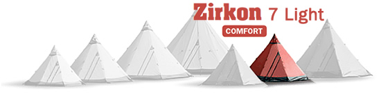Tentipi Zirkon 7 Light tent-tipi photos
