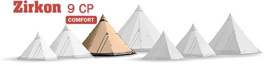 Zircon 9 CP Tentipi tent image